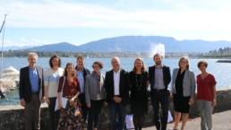 BINC funding programme 2019 awardees and BINC Team