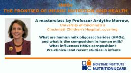 BINC Masterclass by professor Ardythe Morrow