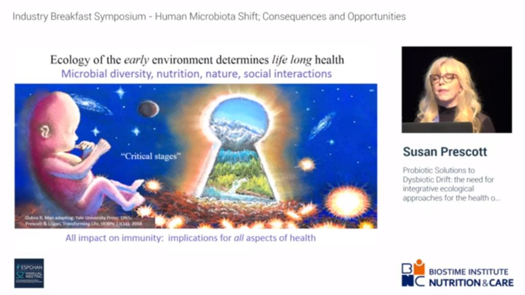 Webinar Probiotic solutions and dysbiosis by Dr Susan Prescott
