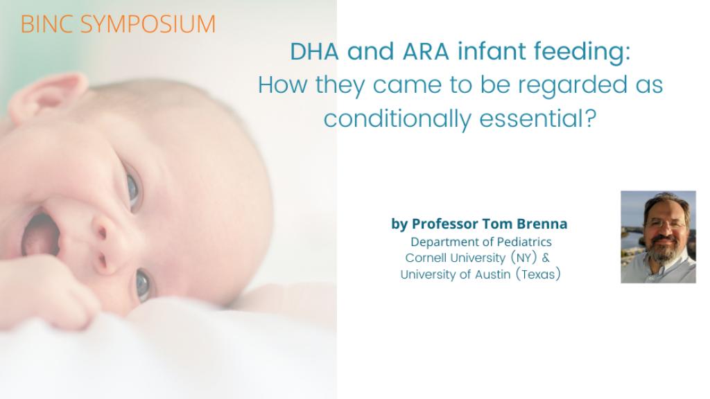 Webinar on DHA and ARA by Prof. Thomas Brenna