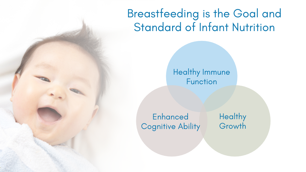 Breastfeeding is the Goal and Standard of Infant Nutrition