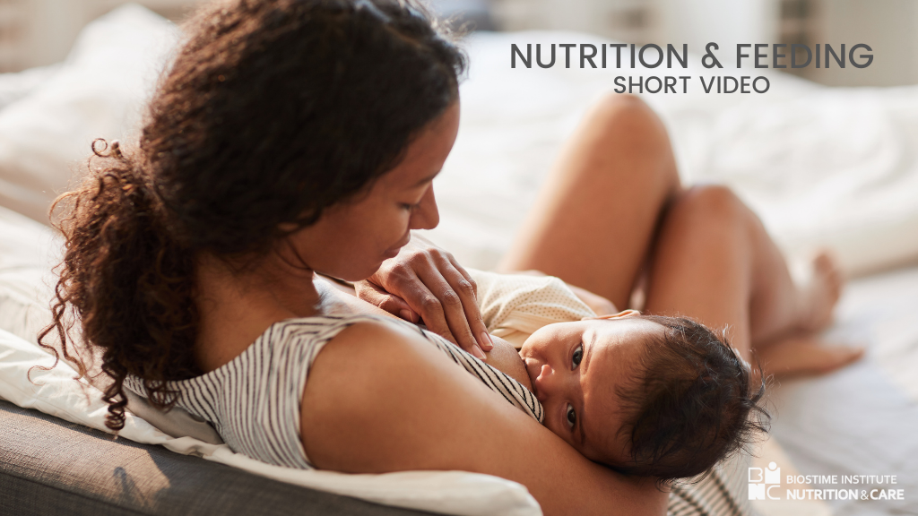 BINC Nutrition and feeding short video